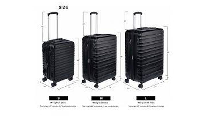 Features of the large suitcase