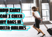 How Early Can I Check My Bags in Delta Airlines