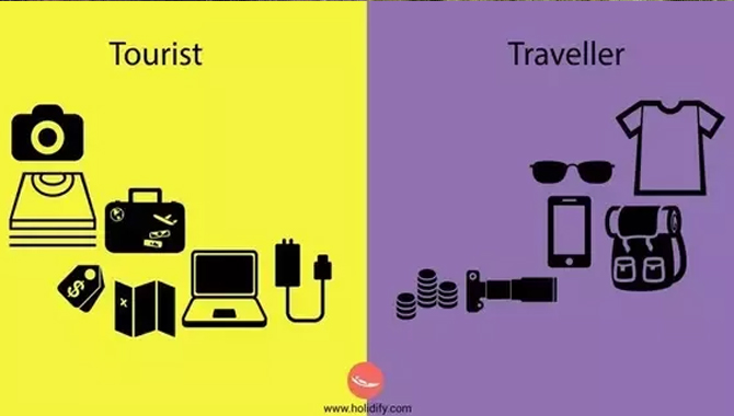 Is it fair to believe that travelers and tourists are the same