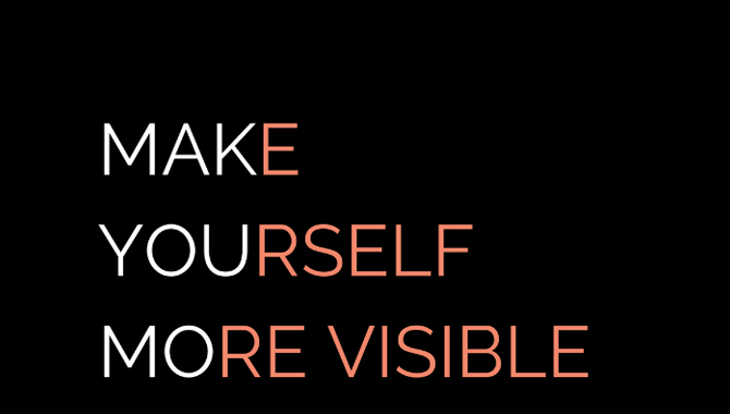 Make Yourself Known