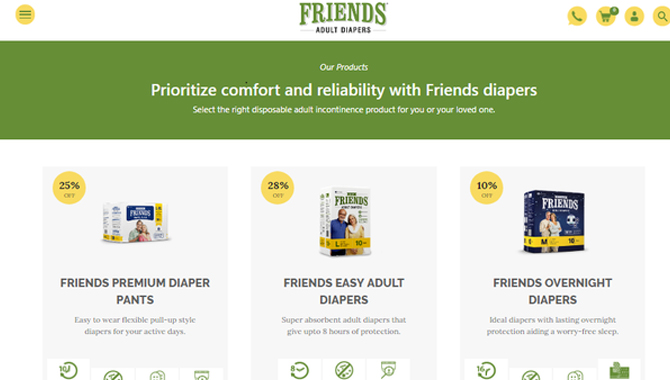 Other Concerns for Adult Diapers