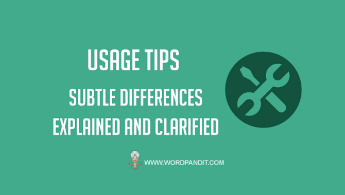 Tips for usage