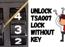 Unlock TSA007 Lock Without Key