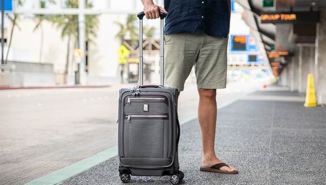 Using carry-on luggage is a better, safer choice