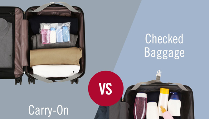 What can you pack in your carry-on and personal item