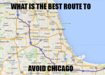 What is the best route to avoid Chicago