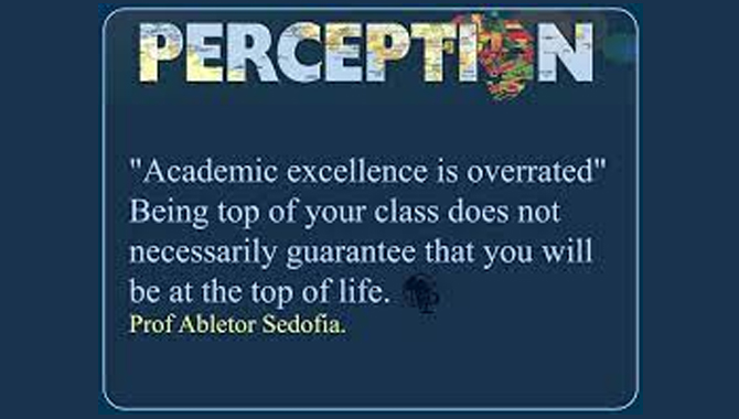 Your Academic Standard Will Be Overrated